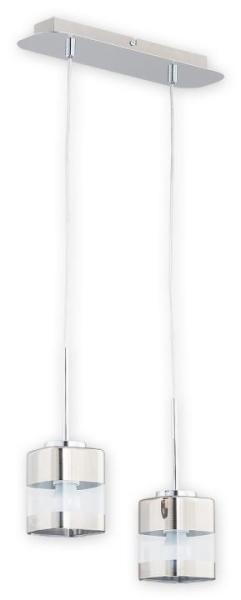 Pendelleuchte E27 Glas transparent Wohnzimmer